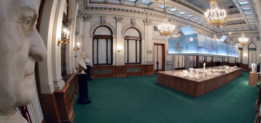 Archeological exibition 'Raadici del presente' 2007: Trieste (ph. Marino Sterle, Trieste)