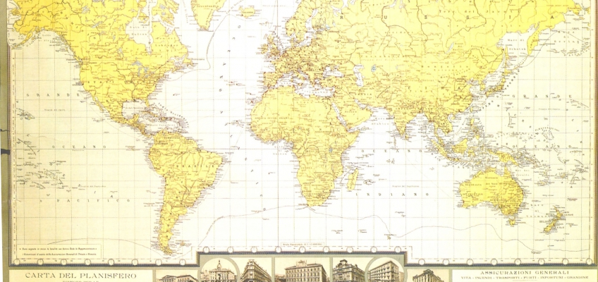 100th planisphere: world map published in1931