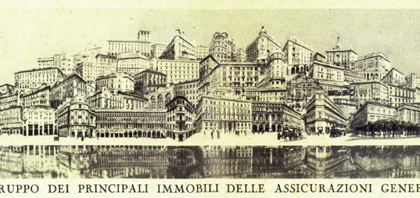 'Generali city', an unusual photomontage: (1930)