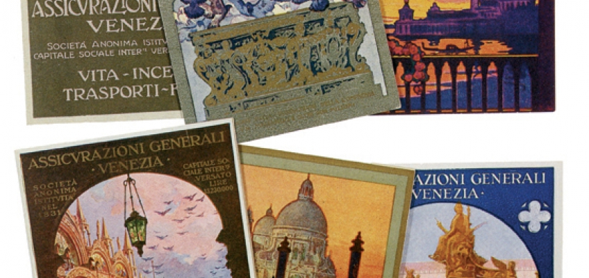 Assicurazioni Generali's pocket calendars: (1910s/1920s)
