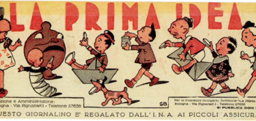 'La prima idea' Ina's newsletter for young policy-holders: (1949/50)
