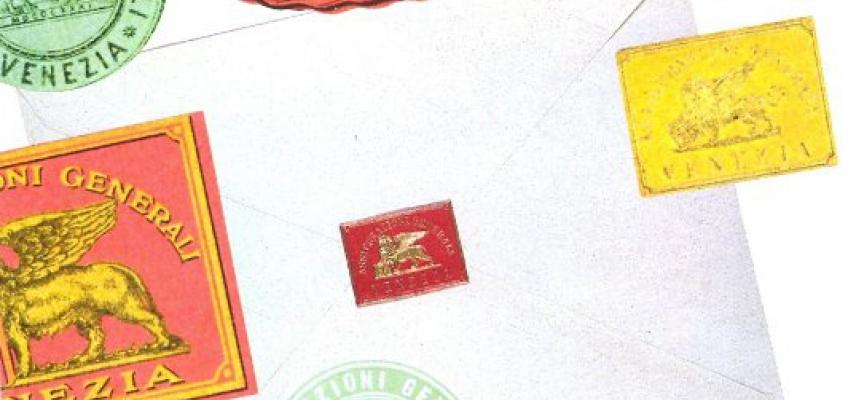 letter seals by Assicurazioni Generali: (1920s/1930s)